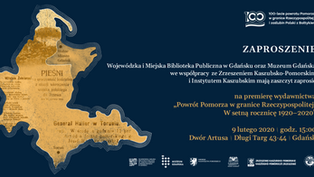 """Spotkanie promujące książkę """"Powrót Pomorza w granice Rzeczypospolitej. W setną rocznicę 1920-2"""