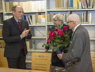 Fotorelacja ze spotkania z Mistrzem Nauki, prof. Stanisławem Salmonowiczem, które odbyło się 22 list