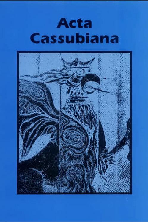 Acta Cassubiana, t. 1 Gdańsk 1999, ss. 450
