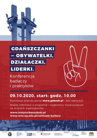Gdańszczanki – obywatelki, działaczki, liderki. Konferencja badaczy i praktyków w Gdańsku - 9.10.202