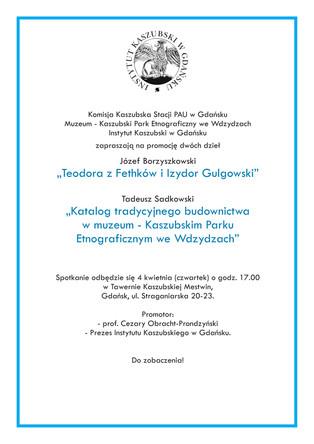 Spotkanie promocyjne - 4.04.19, godz. 17:00