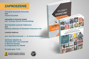 Promocja książek prof. Cezarego Obracht-Prondzyńskiego - 14.12.2017 r.