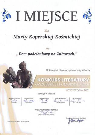 Konkurs Literatury Kaszubskiej i Pomorskiej 2021