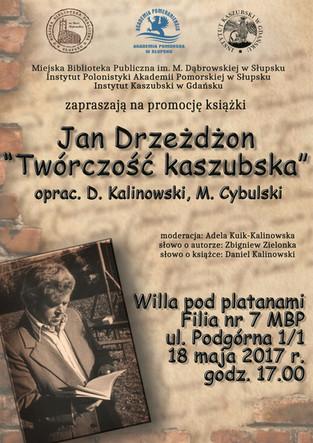 Zapraszamy do Słupska! Już 18 maja, godz. 17:00 promocja najnowszego tomu Biblioteki Pisarzy Kaszubs