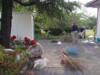 苅田町清掃活動に参加致しました。