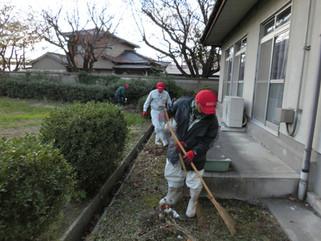 苅田町の清掃ボランティアに参加致しました。