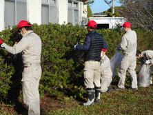 苅田町清掃活動に参加しました。
