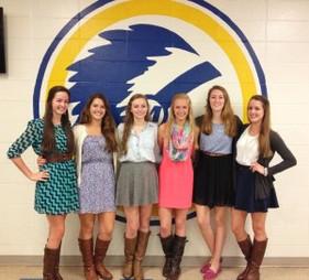 MHS volleyball seniors