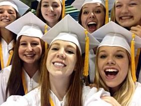 MHS graduation in 2014
