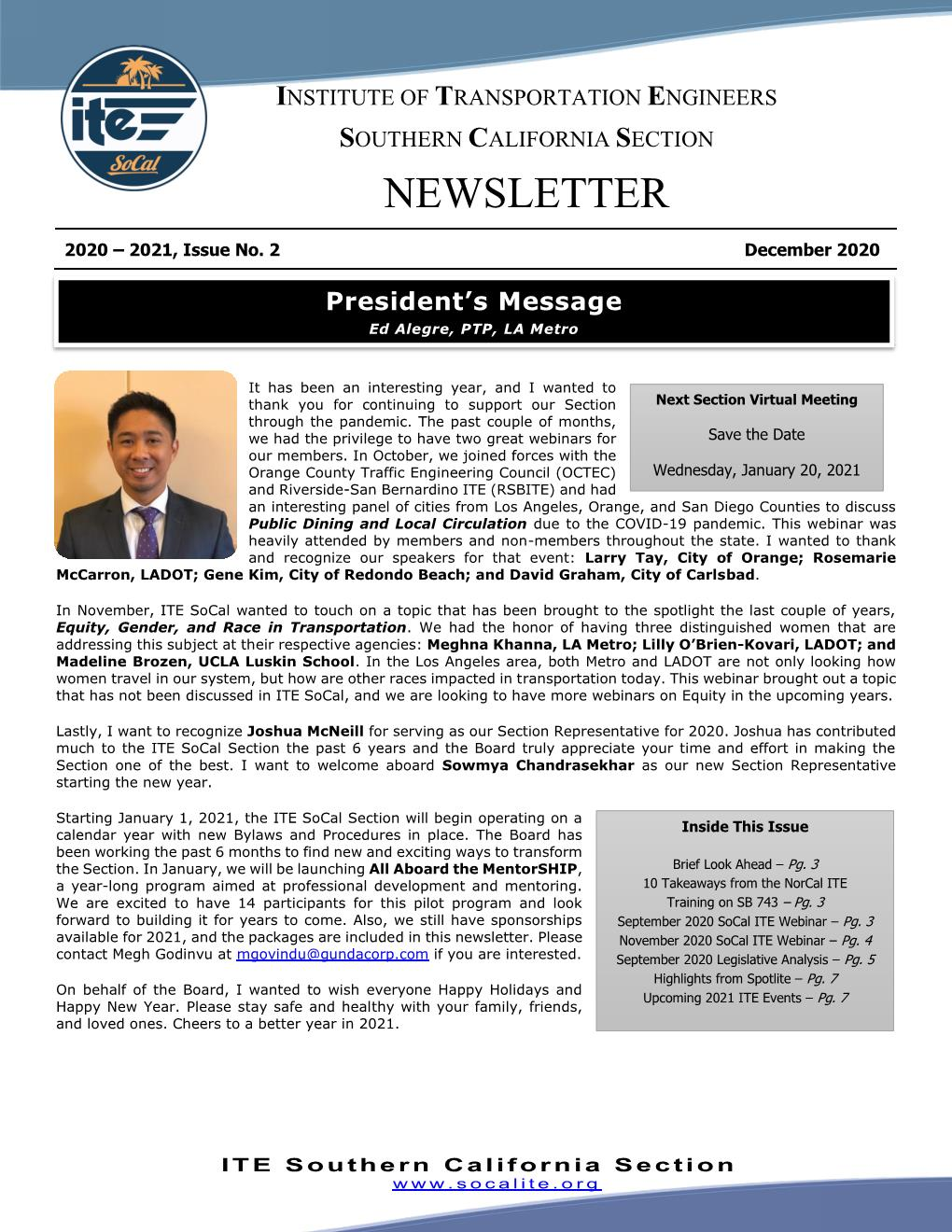 2020-12 December_2020_ITE_SoCal_Newslett