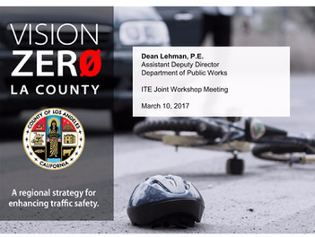 March 10th Workshop - Vision Zero Presentations