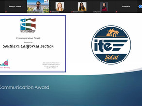 ITE Western District Annual Meeting - SoCal Section Awards