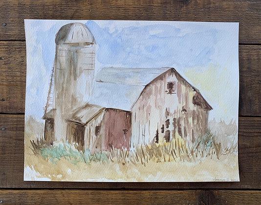 Brown Barn