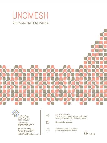 Polypropylene Mesh, non absorbable mesh, 15*15,6*11, hernia mes