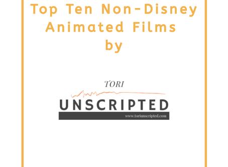 Top Ten Non-Disney Animated Films