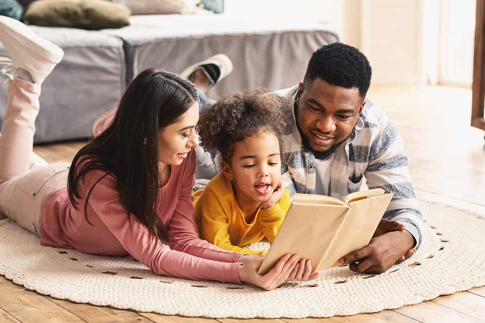 international-family-reading-book-on-the