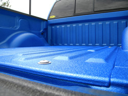 Line-X in Electric Blue Color Match