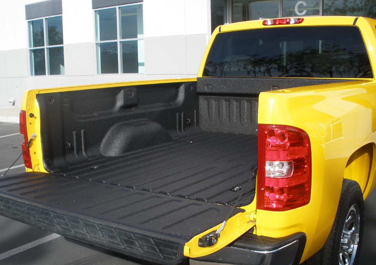 Line-X Spray on Truck Bed Liners