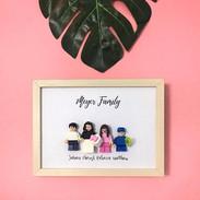 Making family frames makes me really rea