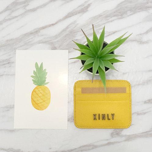 Cardholder - Mustard