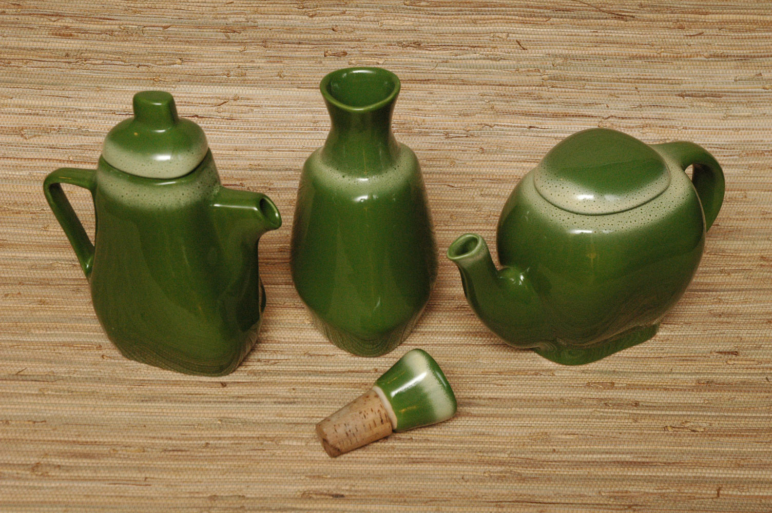 Chocolate pot, decanter and teapot
