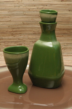 Tamac goblet and decanter