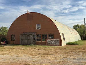The Tamac quonset hut in 2014