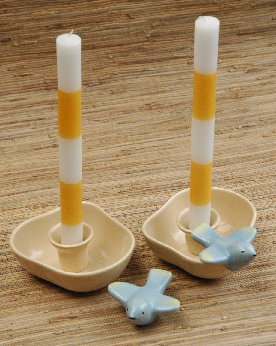Tamac honey candle holders