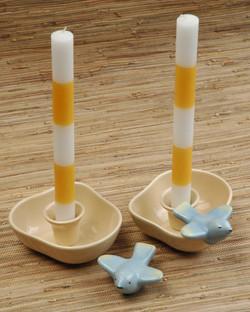 Tamac honey candle holders