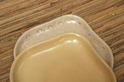 Honey and experimental glaze