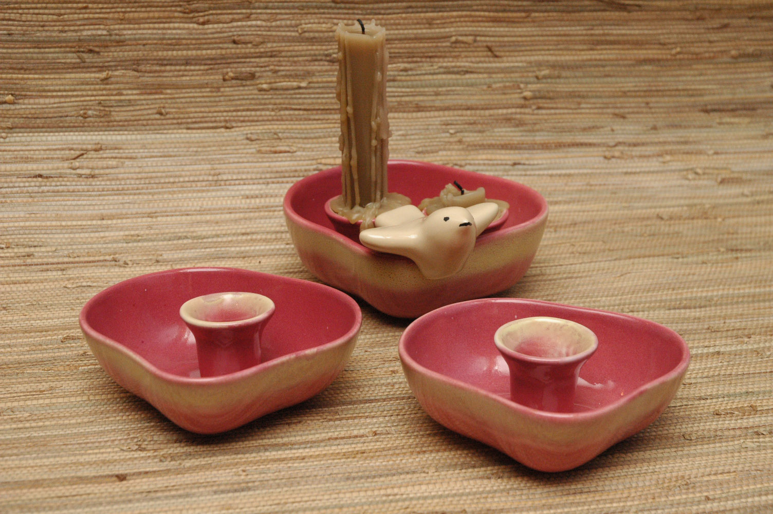 Tamac single & double candle holders