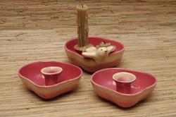 Tamac single & double candle holders