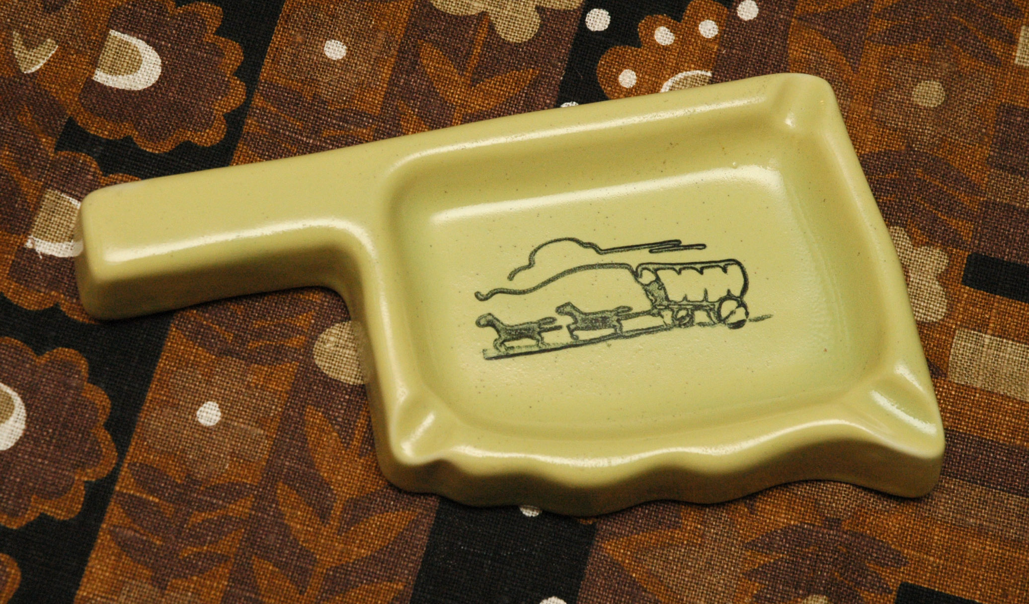 Tamac Oklahoma ashtray