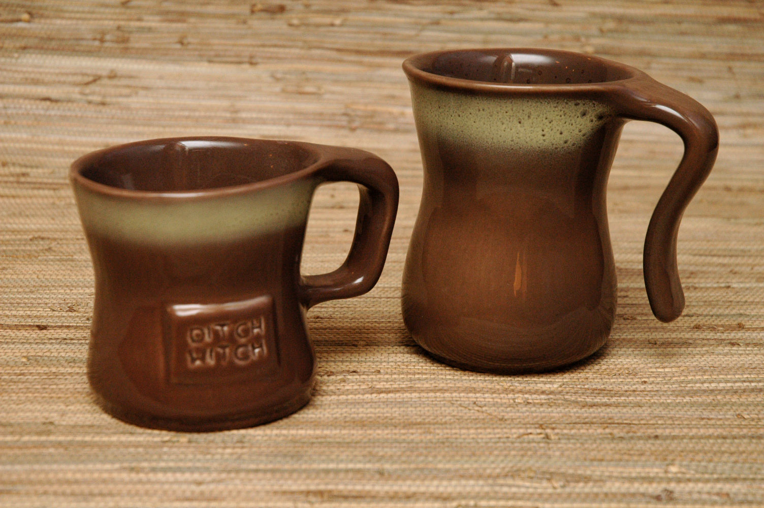 Tamac open & closed handle mugs