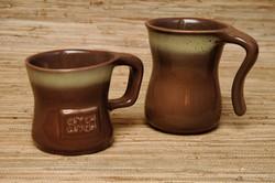 Tamac open & closed handle mugs