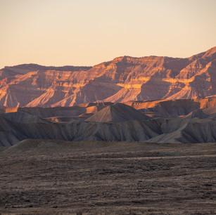 Sunset on Book Cliffs