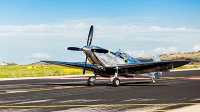 WWII Spitfire Mk.IX @ Eleftherios Venizelos Airport