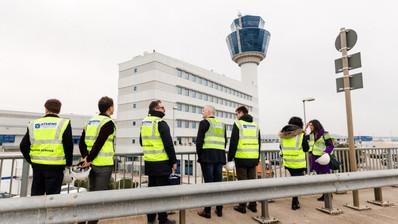 AIA Constructon Tour on New Terminal