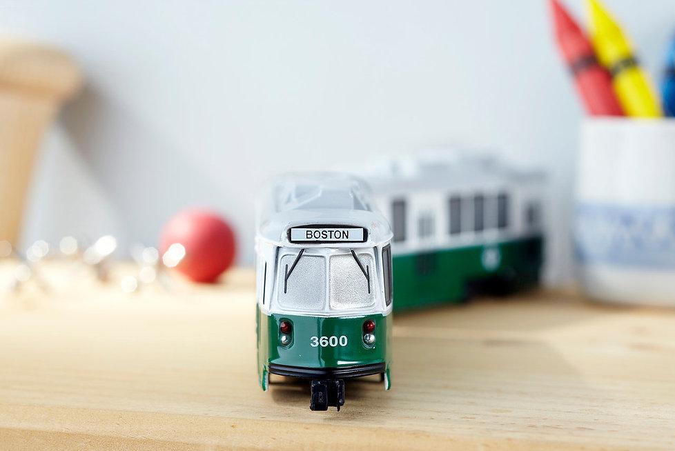 Boston MBTA Die Cast Trolley Toy