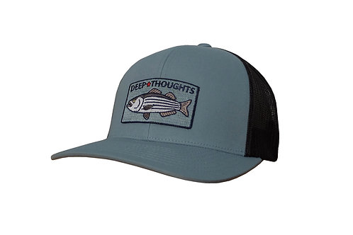 Striper Patch Fishing Hat