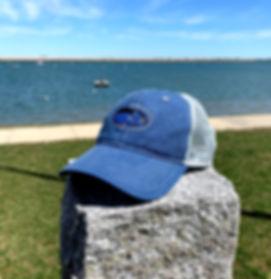 Bluefish Trucker Hat Outside