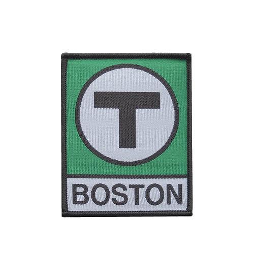 Boston MBTA Green Line T Logo Iron-on Patch