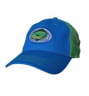 Mahi Mahi Trucker Cap - Bright Blue with