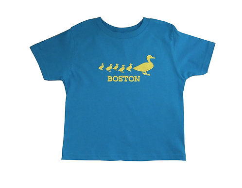 Boston Strong colors Toddler Ducklings t-shirt