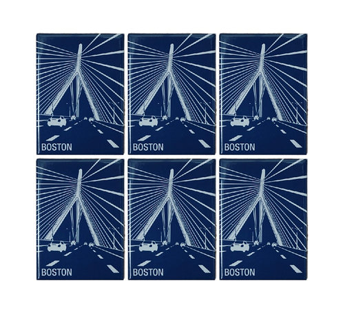 Boston Zakim Bridge Souvenir Magnet Bundle Pack