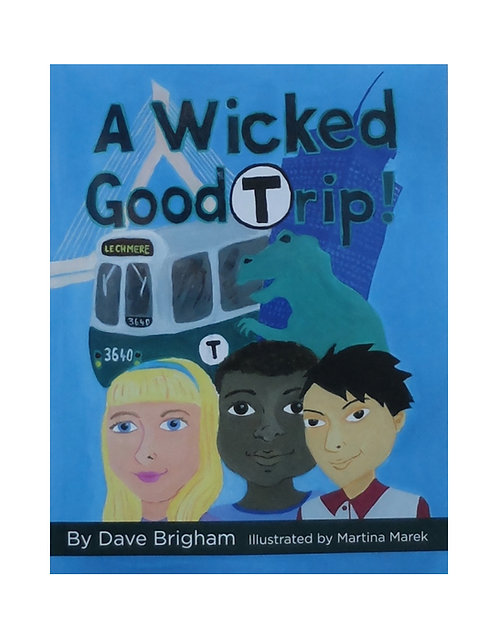 MBTA Boston Green Line Illustrated Kids Book