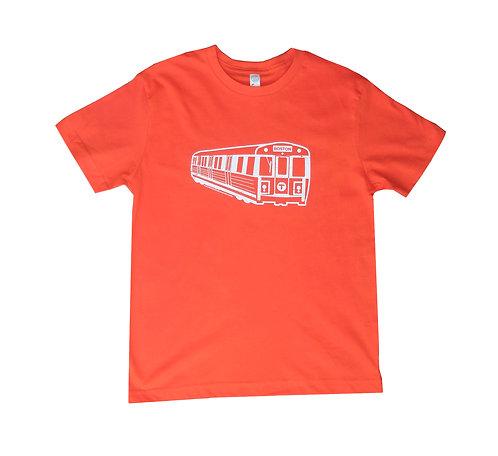 Youth MBTA Orange Line Train T-Shirt