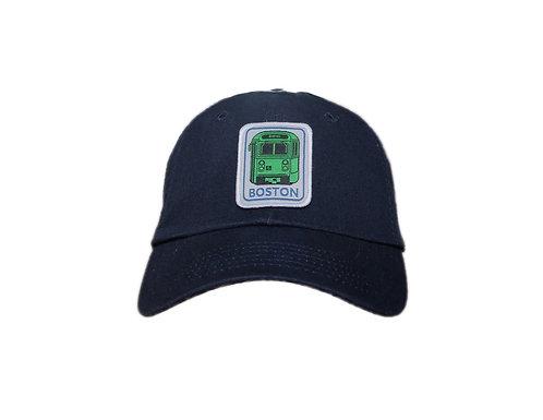 Kids Navy Blue Boston Green Line Trolley Hat