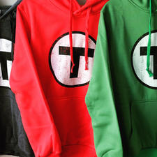 Adult Boston T Logo MBTA Hoodies