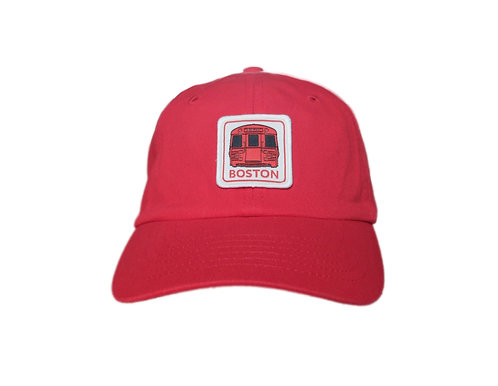 Kids Boston MBTA Red Line Baseball Hat